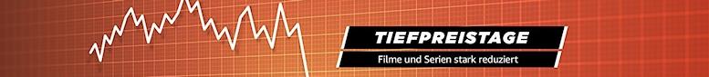 Tiefpreistage bei Amazon: Reduzierte Filme und Serien