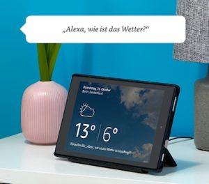 alexa auf tablet