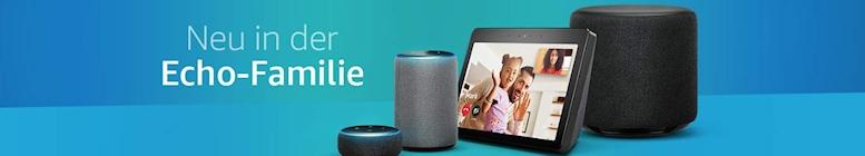 Amazon: Die neuen Echo Geräte sind da!