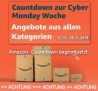 Countdown zur Cyber Monday Woche beginnt