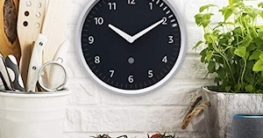 echo wall clock amazon