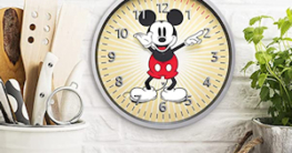 alex clock disney micky mouse